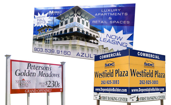 commercial real estate sign printing