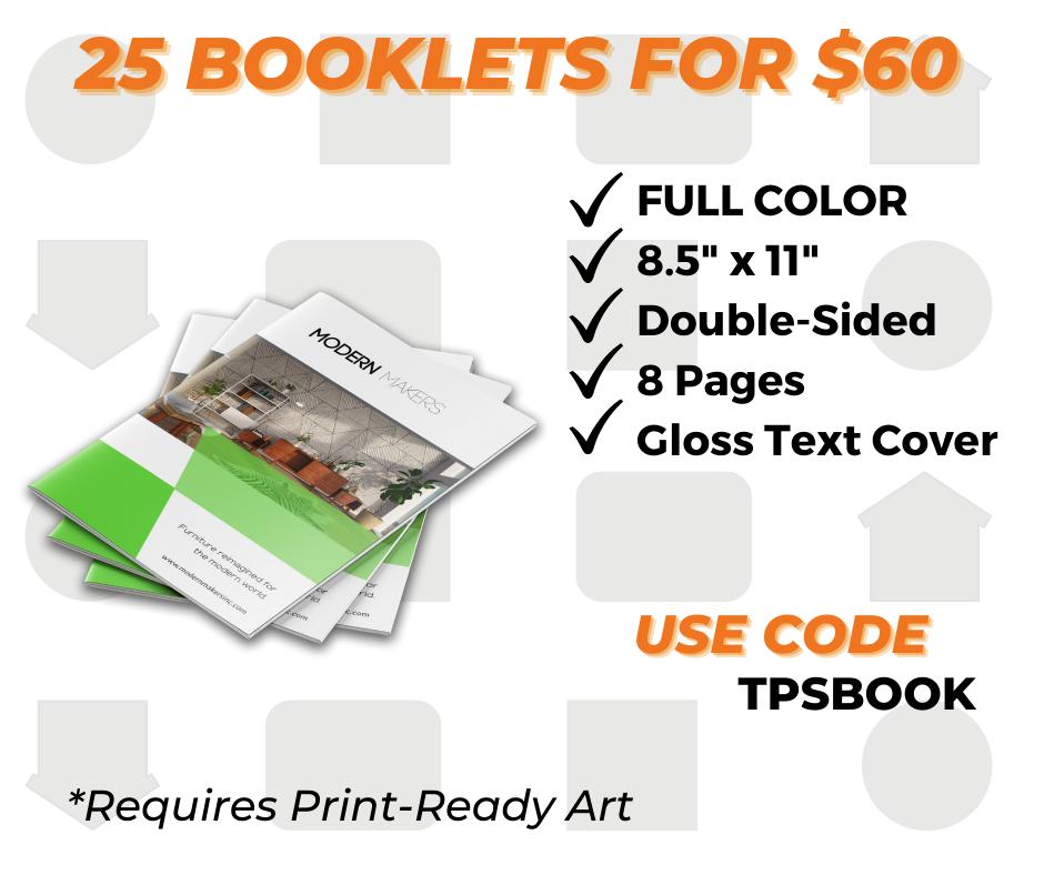 custom booklet printing special