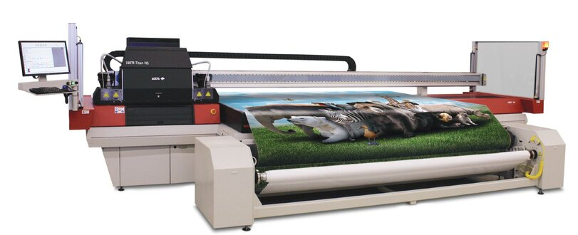 Agfa Titan S for large format printing