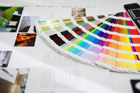 Vivid print colors