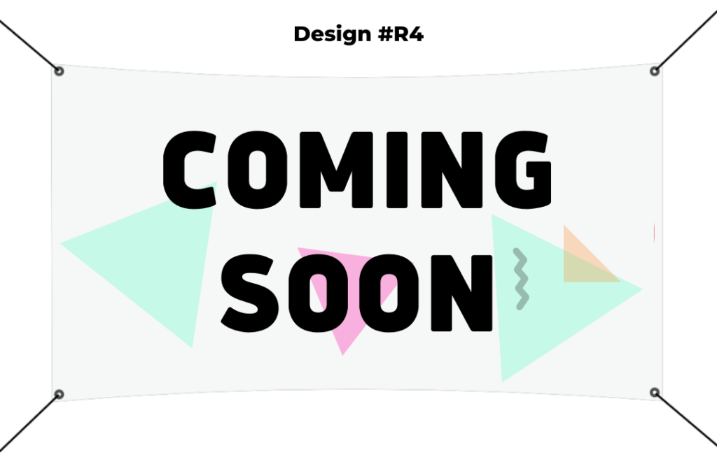 R4 4x5 Banner Coming Soon