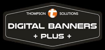 digital banners plus logo