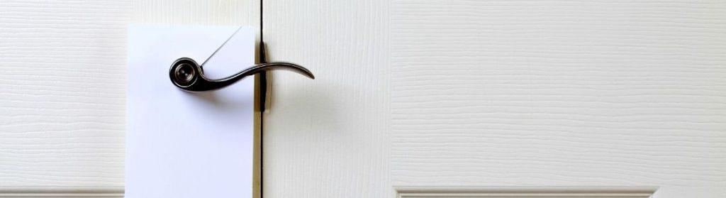 door hanger cover photo