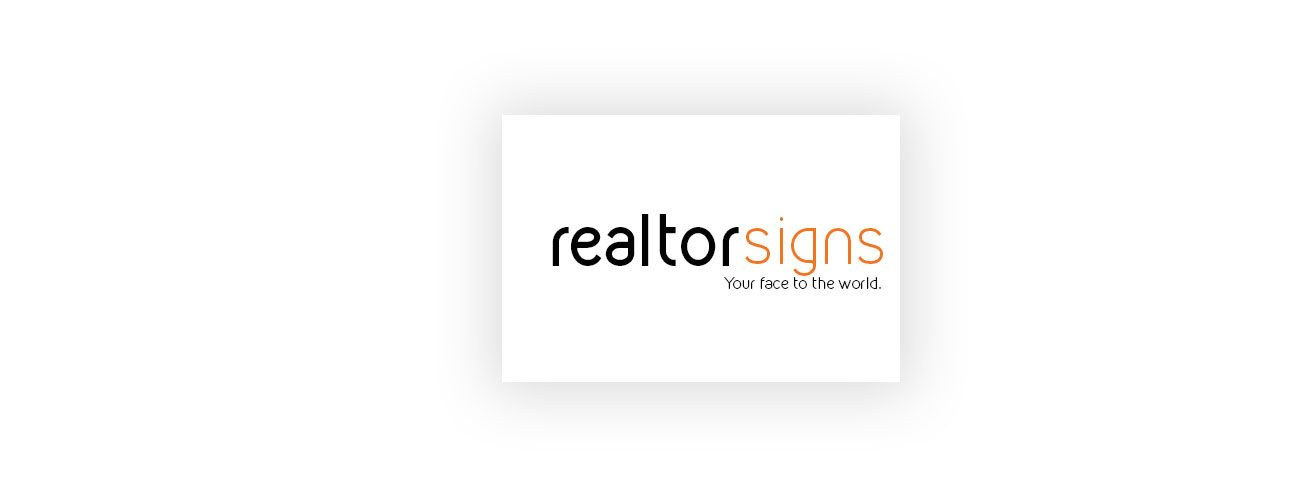 real estate signs and banner printing
