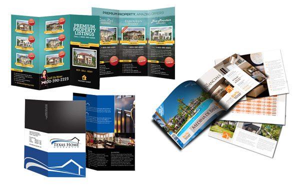 real estate brochure printing