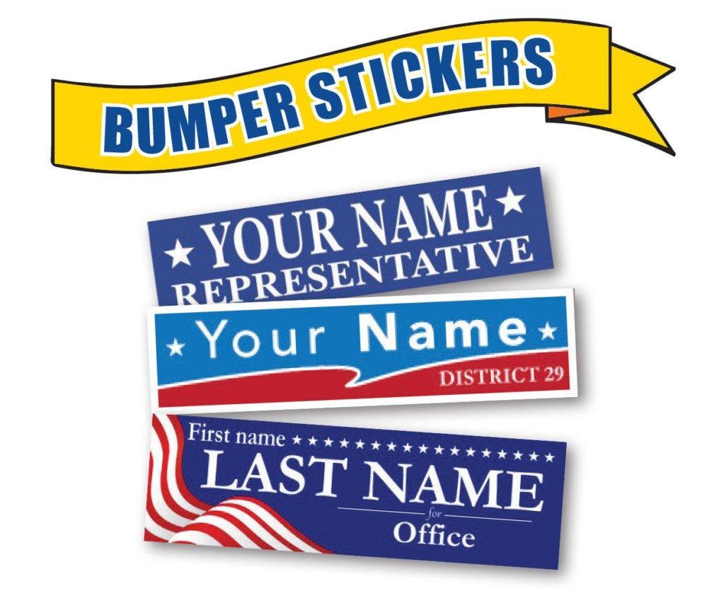 custom bumper sticker printing services