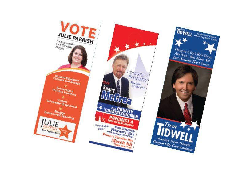 rack card campaign printing